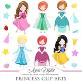 Fairytale Princess  Clipart - Vectors clip art - images