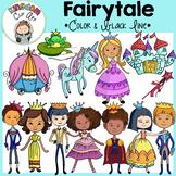 Fairytale Princess & Princes Clip Art