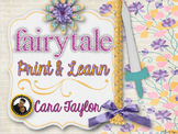 Fairytale Print and Learn ~ Ultimate NO PREP Packet 100+ Pages