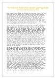 Fairytale Reading Comprehension worksheet