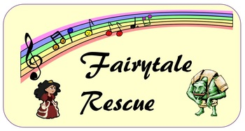 Fairytale Rescue - piano note finding game