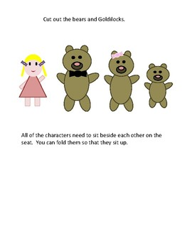 Fairytale STEM with LEGOs: Goldilocks and the Three Bears