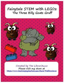 Fairytale STEM with LEGOs: The Three Billy Goats Gruff
