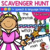 Fairytale Speech Therapy Scavenger Hunt
