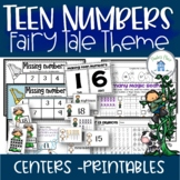 Teen Numbers Fairy Tale Theme