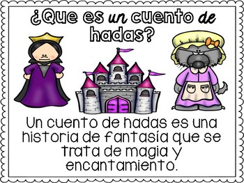 Fairytale Thematic Unit in Spanish
