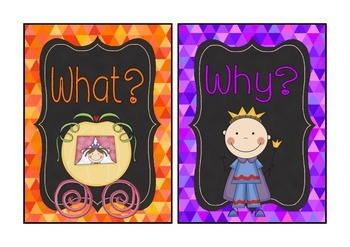 Fairytale Theme 5W signs