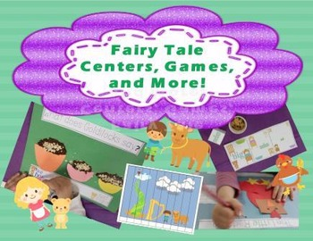 Fairytale Theme For Preschool and Kindergarten Math and Literacy