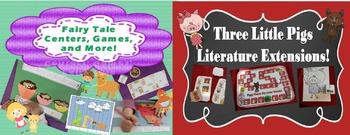 Fairytale Theme For Preschool and Kindergarten Math and Literacy