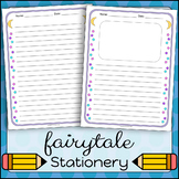 Stationery Writing Paper   Fairytale