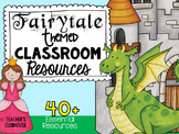 Fairytale Theme Decor Pack