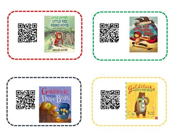 Fairytale Theme QR Read Alouds