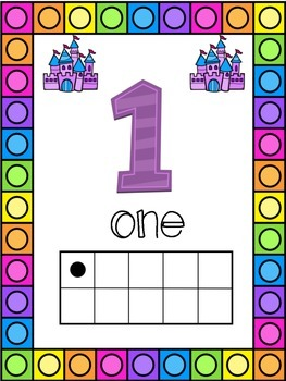 Fairytale Themed 0-20 Numbers Posters