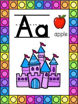 Fairytale Themed Alphabet Posters