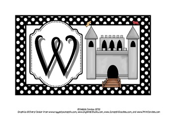 Fairytale-Themed WELCOME Sign