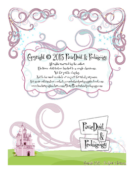 Fairytale Themed Writing Paper~ Sky to Ground Formation
