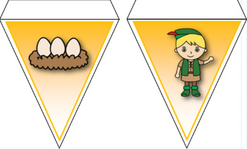 Fairytale/Traditional Tale Bunting Decoration for Classroom