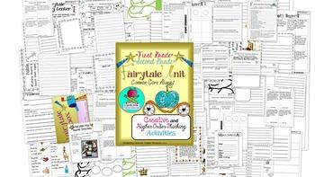 Fairytale Unit First Grade Second Grade CREATIVE THINKING Common Core