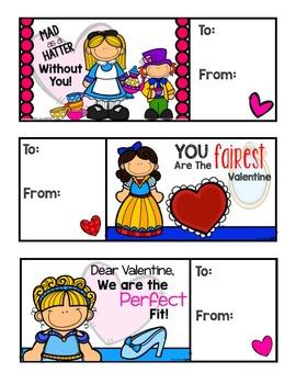 Fairytale Valentines (Disney Inspired)