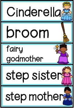 Fairytale Word Wall Cards