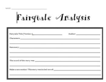 Fairytale comparisons