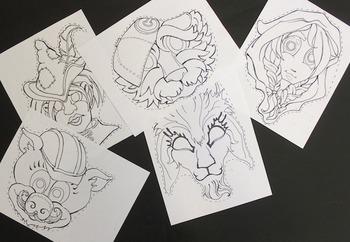Fairytale mask sampler