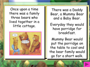 Fairytale stories for the IWB