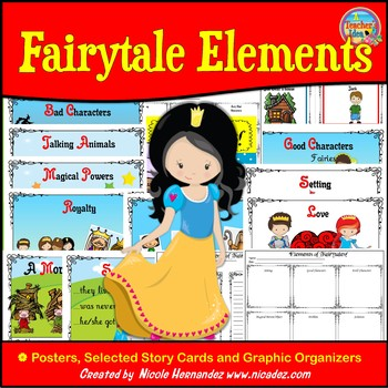 Fairytales - Posters and More {For Lower Elementary Classrooms}