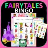 FAIRYTALES BINGO GAME Two Designs + PDF + Digital Options