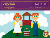 Fairytales and Nursery Ryhmes - Jack and Jill Story Clipart Pack
