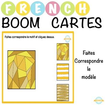Faites Correspondre Le Modele French Boom Cards By The Cardinal Academy