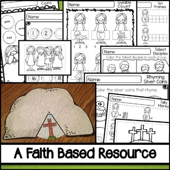 Faith Based Easter Activities for Kids