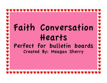 Faith Conversation Hearts