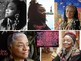 Faith Ringgold Art SHOW + TEST = 216 Slides - African American Woman ART