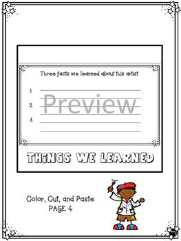 Faith Ringgold - Interactive Notebook Foldables