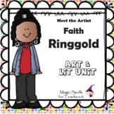 Faith Ringgold Activities- Famous Artist Biography Unit -