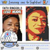 Faith Ringgold, Tar Beach Author, Black History Collaborative Lego Mural