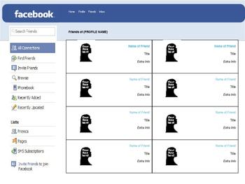 Fake Facebook Template