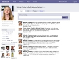 Fake Facebook Template - for book reviews and more