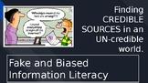 Fake News Information Literacy Presentation