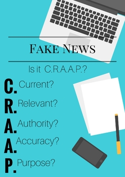 Fake News Poster- Is it C.R.A.A.P.?