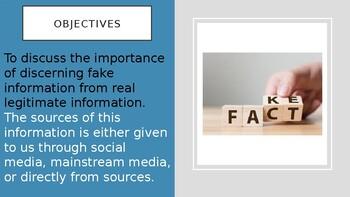 Fake News Power Point