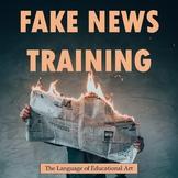 Fake News Training: Using Gun Violence Stories to Assess Article Types