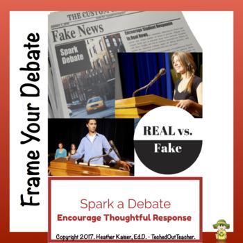 Fake News vs. Real News - Classroom Debate Planner