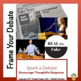 Fake News vs. Real News - Classroom Debate Planner