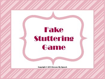 Stuttering Game