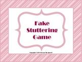 Stuttering Game
