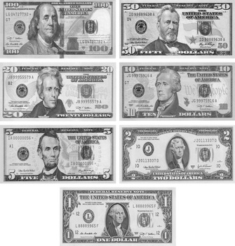 Fake money USA