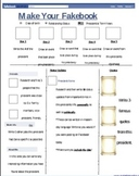 Fakebook Bundle-PowerPoint Project, Blank Templates, & Pre