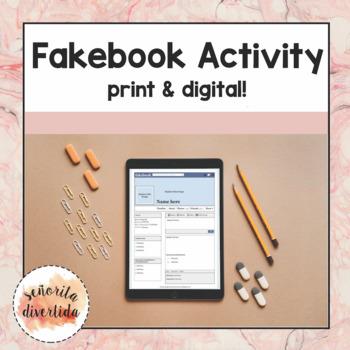 """Fakebook"" Famous Hispanics Project"